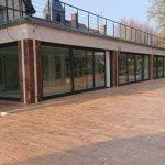 Hormigón impreso en terrazas